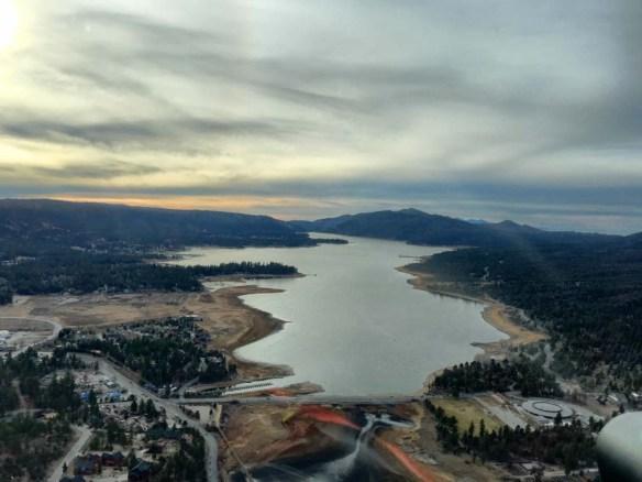 Helicopter Flight Views, Big Bear