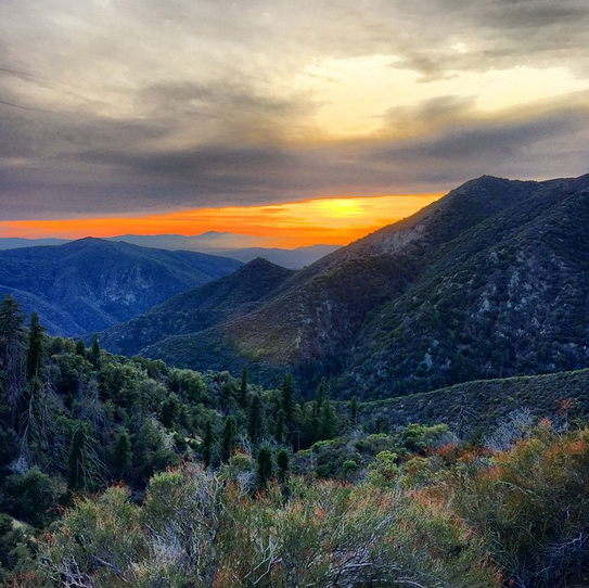 Mountains to Big Bear, California