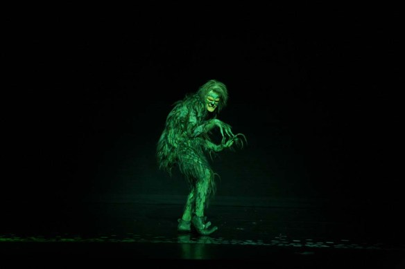 Segerstrom Center - GRINCH Company - Stefan Karl as The Grinch. Photo by PaparazziByAppointment.com