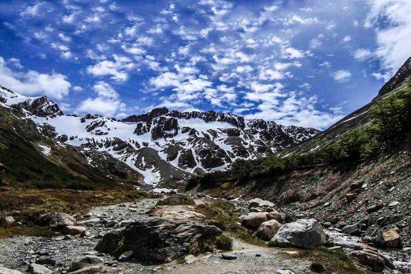 Glacier in Ushuaia