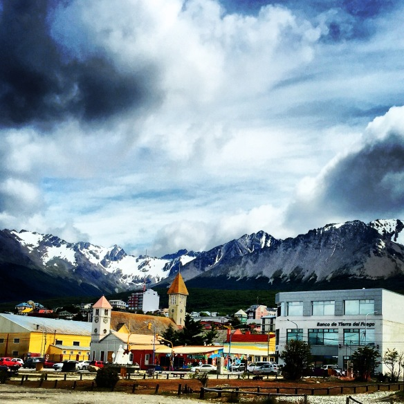 Ushuaia Downtown View