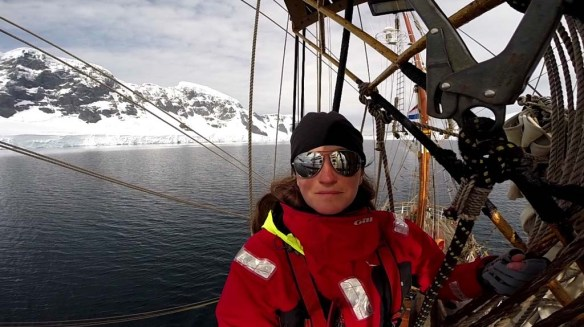 Climbing Aloft on a Tall Ship