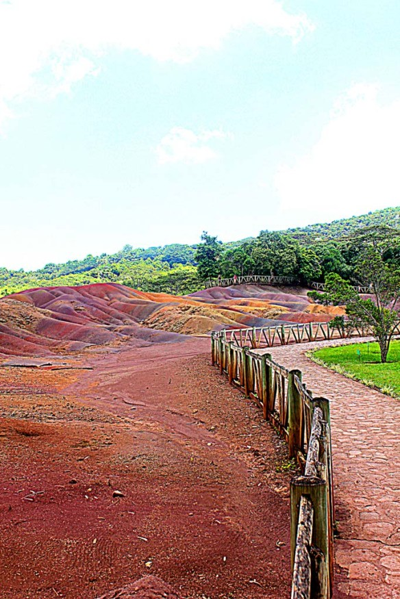 Chamarel Seven Coloured Earth Mauritius