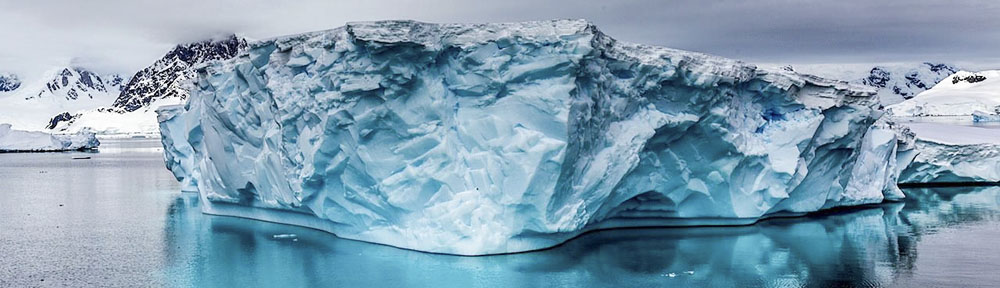 Ice in Antarctica