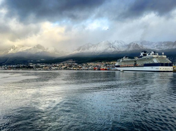 Ushuaia from Bark Europa