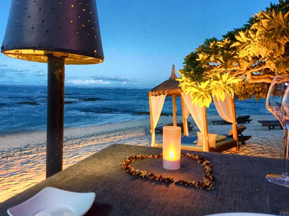 Dining at Belle Mare Plage, Mauritius