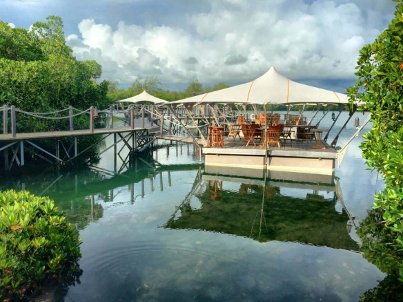 Floating Restaurant at Le Prince Maurice