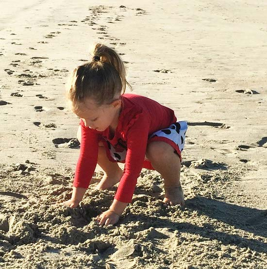 Making Sandcastles at Dana Point