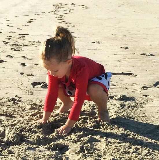Making Sandcastles at Dana Point