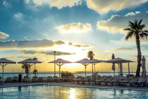 David Intercontinental Pool and Sea View