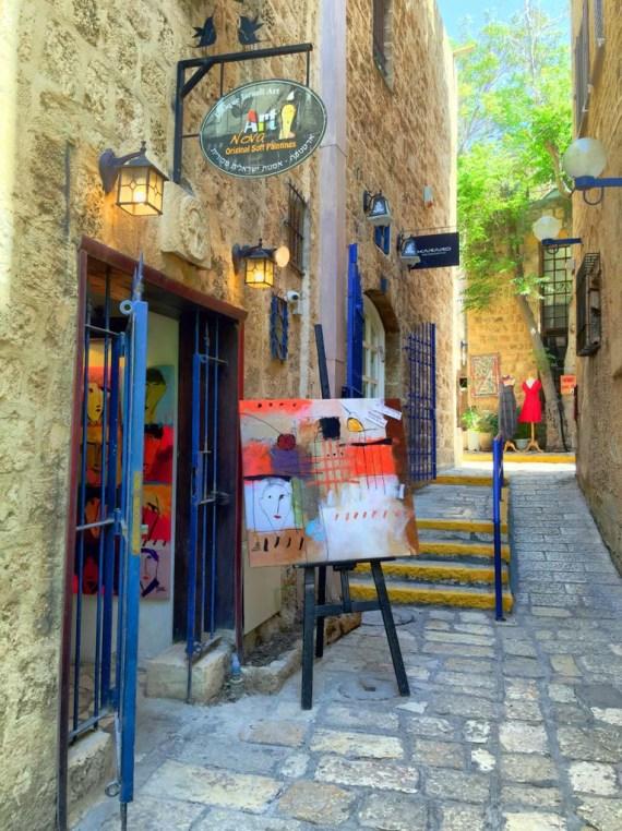 Gallery in Jaffa, Israel