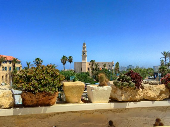 Views of Old Jaffa from Ilana Goor Museum