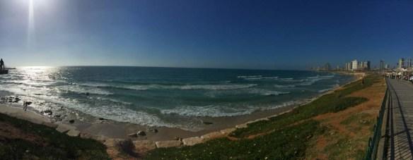 Boardwalk in Tel Aviv