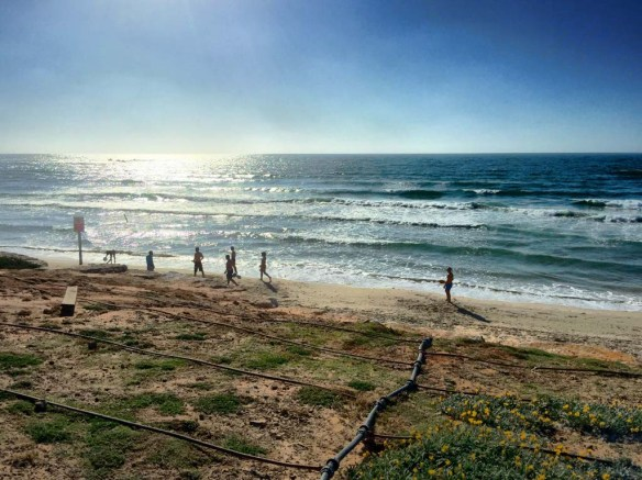 Beach in Israel