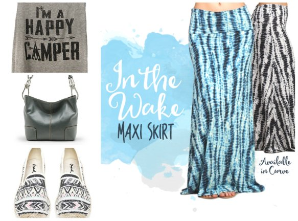 Silver Icing Maxi Skirt