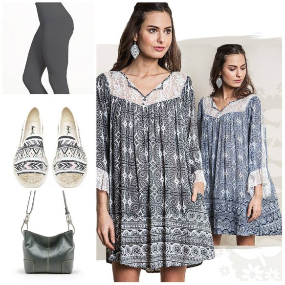 Silver Icing Tunic and Accessories
