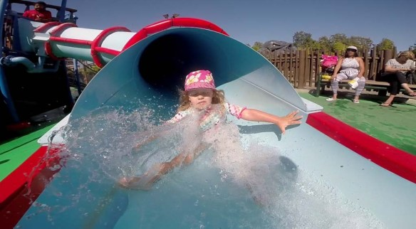 Water Slide at LEGOLAND California