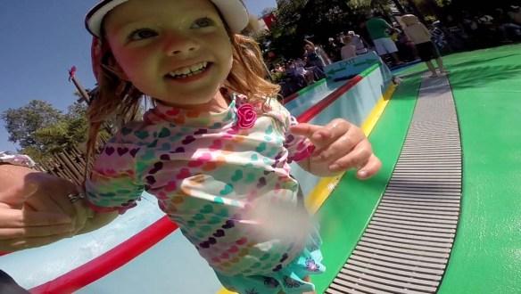 Playing at LEGOLAND Water Park