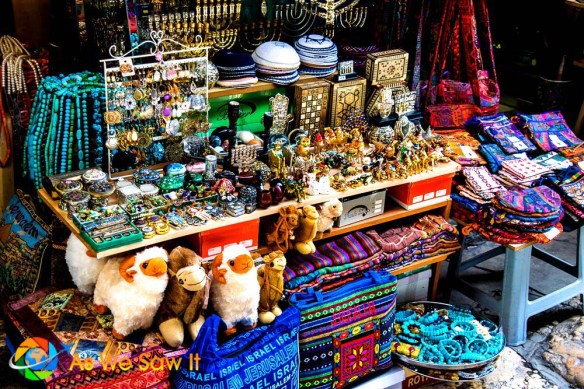 Old City Jerusalem Shops