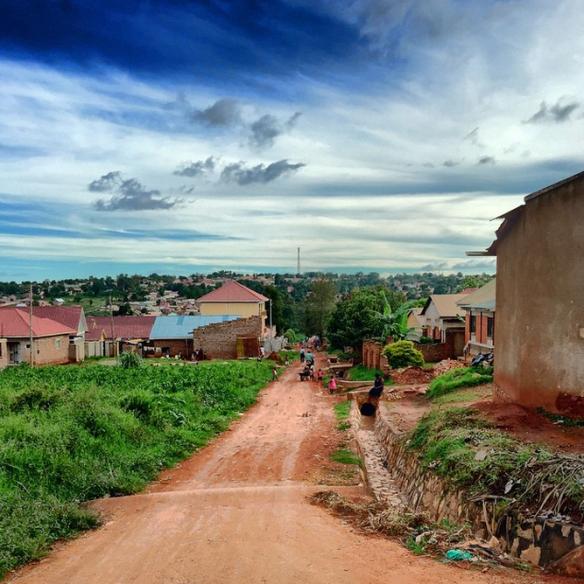 Side Streets Outside of Kampala, Uganda