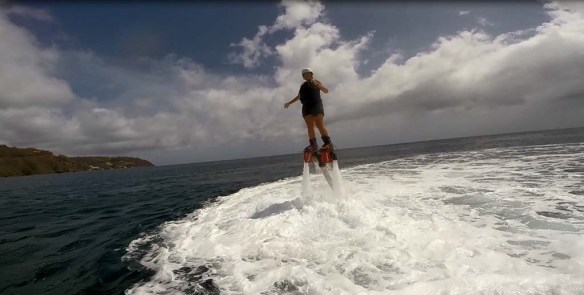 Flyboarding in Dominica
