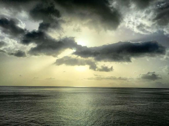Sunset View in Dominica
