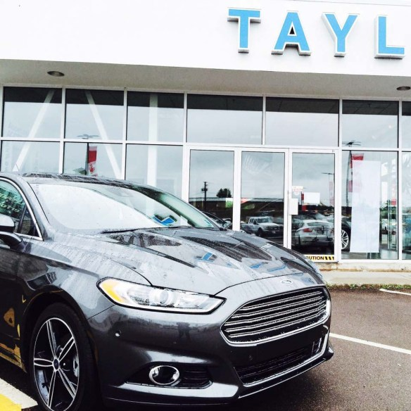 Taylor Ford - Ford Fusion