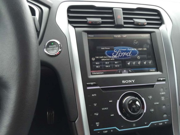 2015 Ford Fusion Instrument Panel
