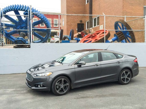 Test Driving a Ford Fusion