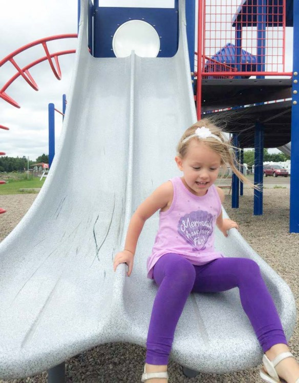 Playground in Shediac, New Brunswick