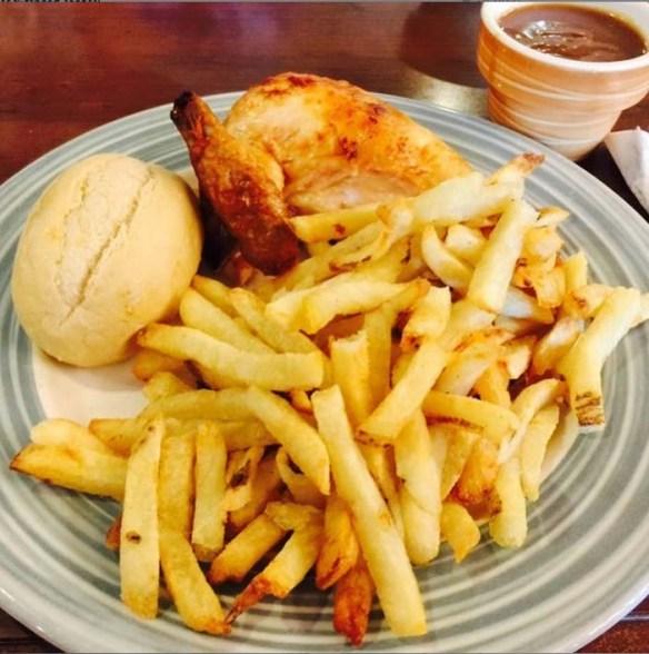 Chicken Dinner at Swiss Chalet