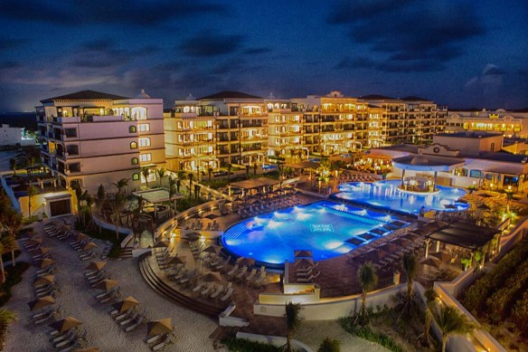 Grand Residences Riviera Cancun Night Shot