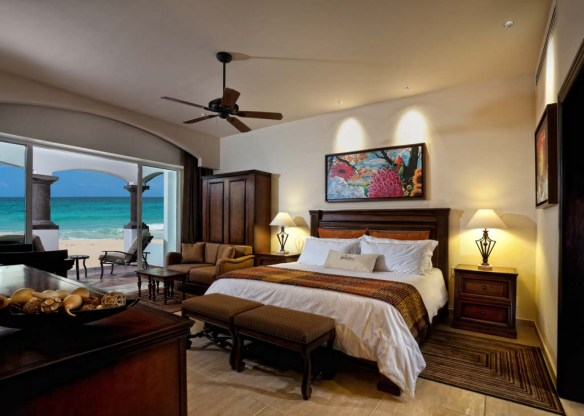 Grand Residences Riviera Cancun Master Bedroom