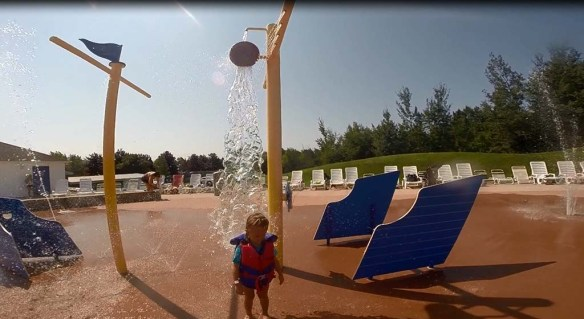 Magic Mountain Splash Pad