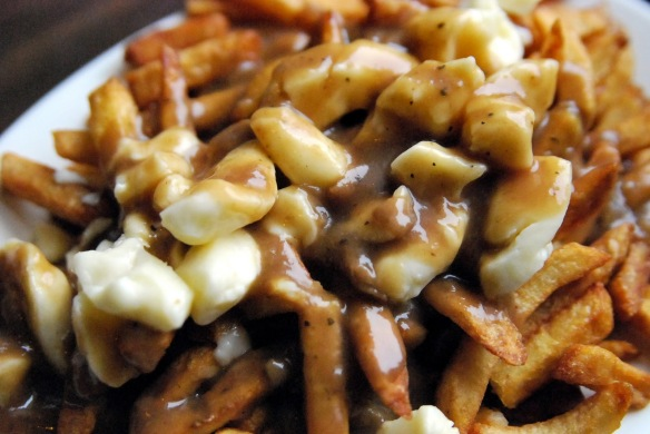 Poutine from Shediac, New Brunswick