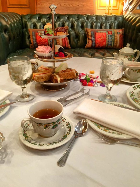 Traditional Afternoon Tea at The Chesterfield, Palm Beach