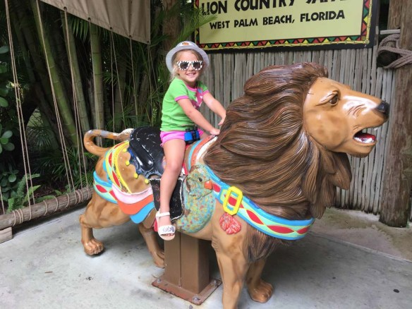 Photo ops at Lion Country Safari, Palm Beach