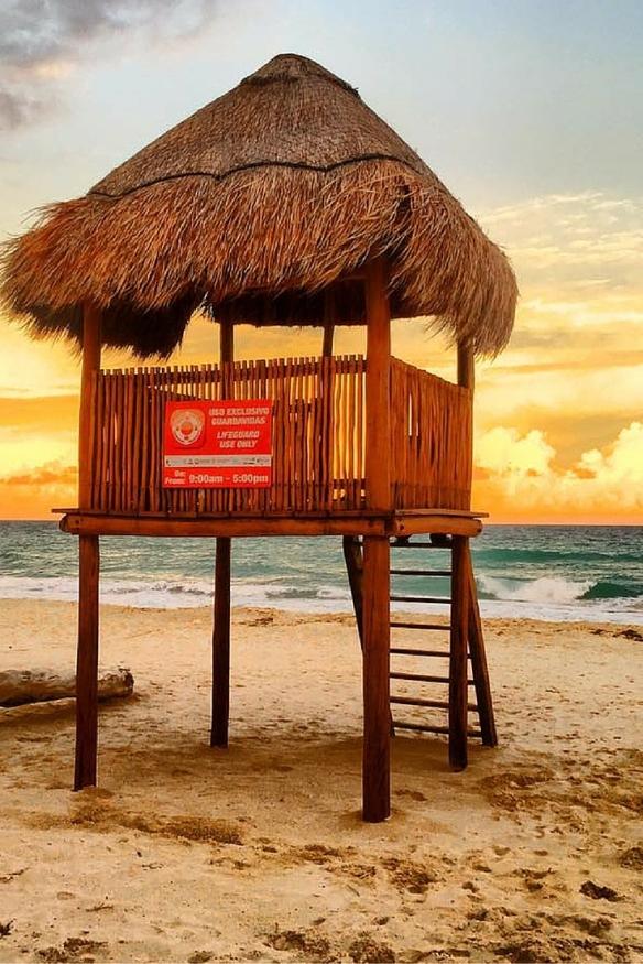 Hard Rock Cancun Beach Sunsest
