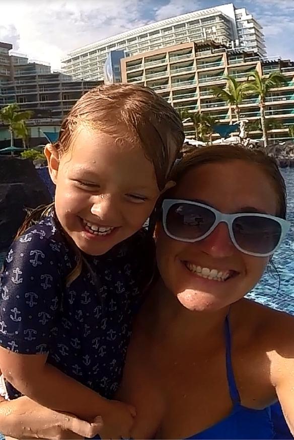 Hard Rock Cancun Pool Fun