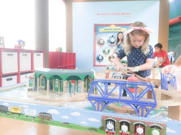 Thomas the Train at Hard Rock Hotel Cancun