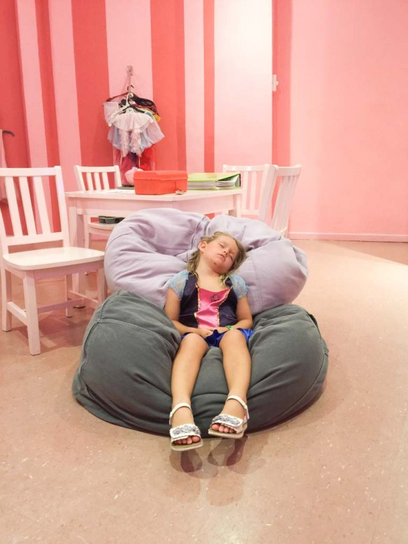 Sleeping at The Little Big Club