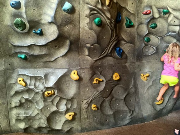 Rock Climbing Wall at The Discovery Cube OC