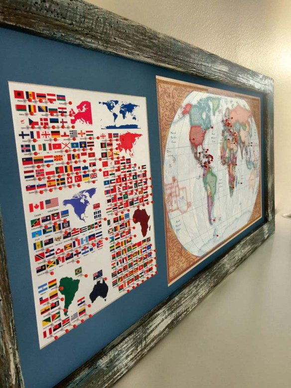 Inspiration Ingrained World Map