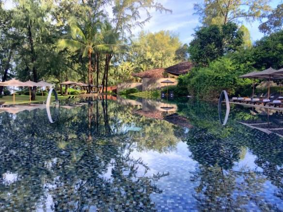 Resort pool at Renaissance Phuket