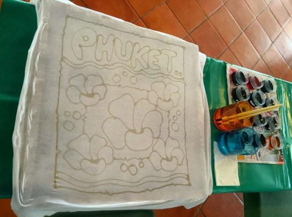 Batik Painting at JW Marriott Phuket Resort & Spa