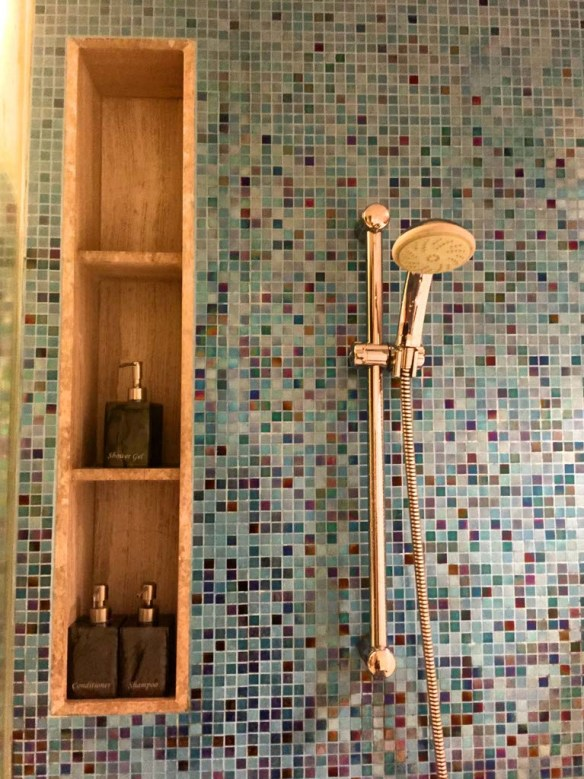The shower at Outrigger Laguna Phuket Resort & Villas
