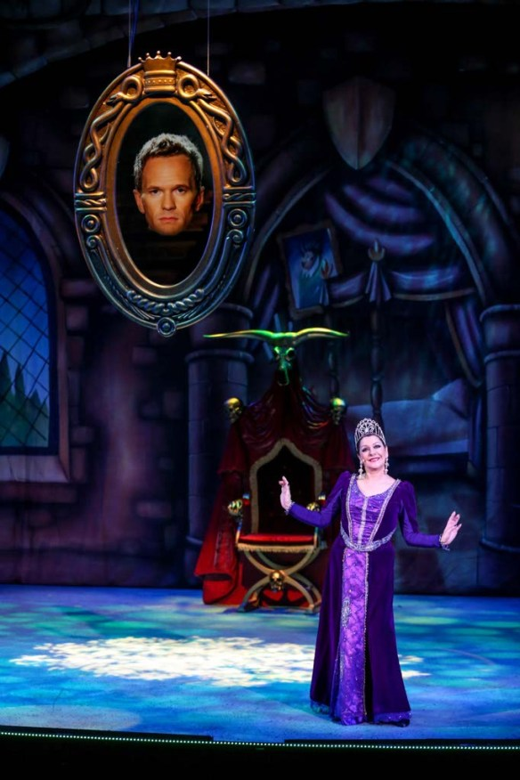 The Wicked Queen from A Snow White Christmas