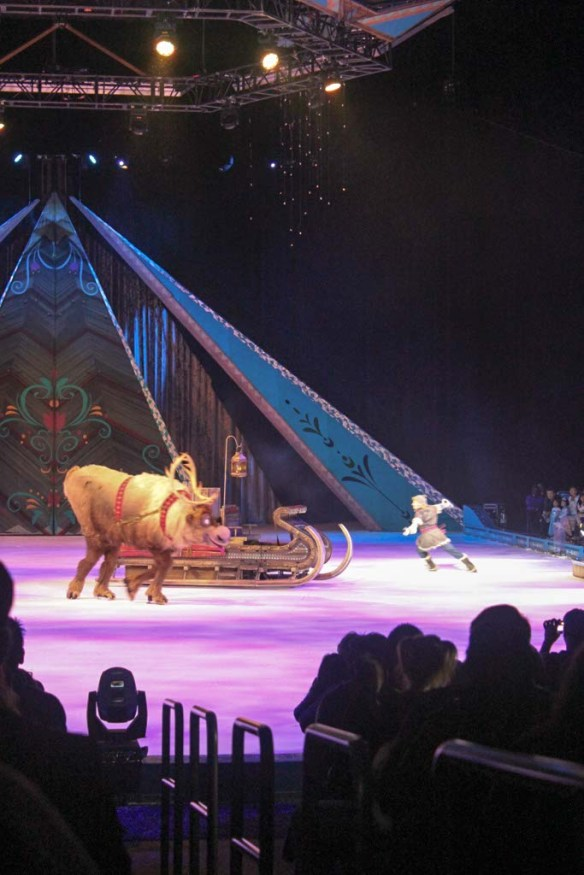 Sven at Disney On Ice