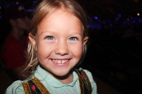 Athena at Disney On Ice - Frozen