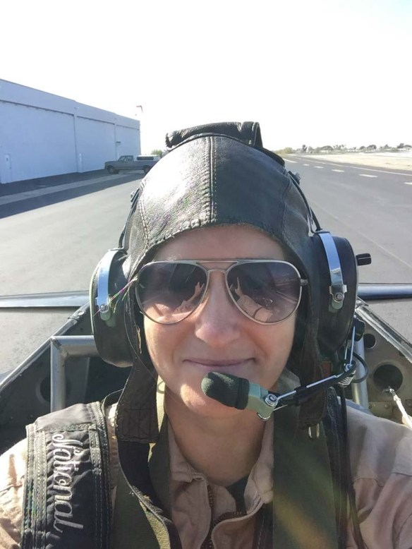 In a Warbird with Aviator Flight Training